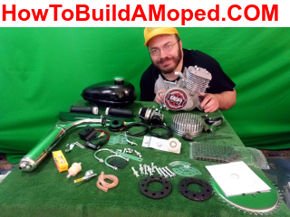 BBR Tuning Racing Series Stage 3 2-Stroke Engine Kit How To Build A Motorized Bicycle Part 1