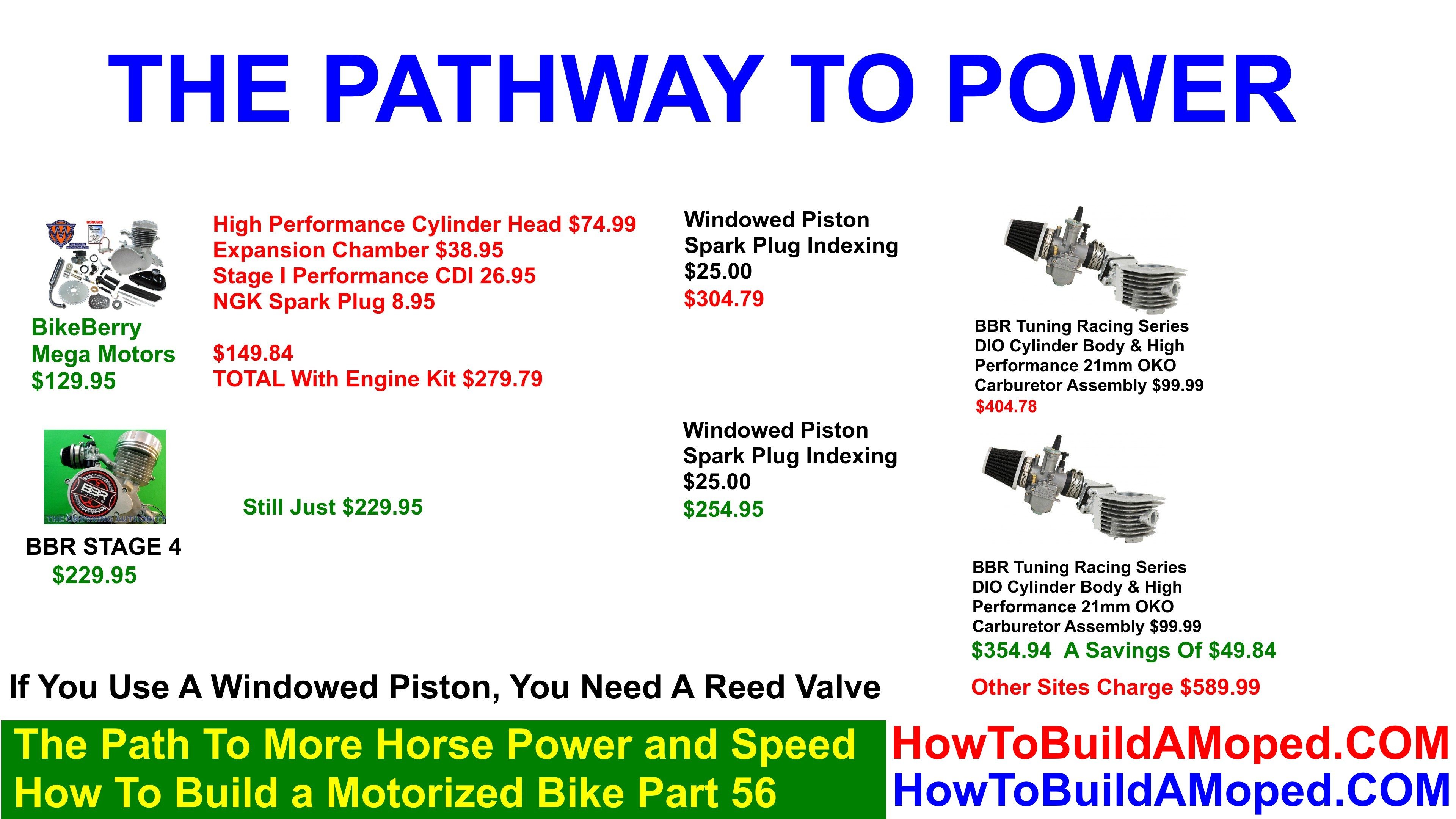 The Path To More Horse Power and Speed How To Build a Motorized Bike Part 56